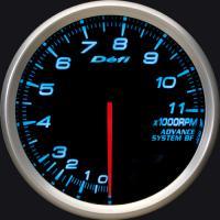 Zegar DEFI ADVANCE BF Obrotomierz 11000rpm 80mm - niebieskie podświetlenie
