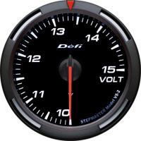 Zegar DEFI Racer Gauge Voltomierz 60mm - białe podświetlenie