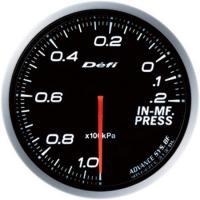 Zegar DEFI ADVANCE BF Ciśnienie w kolektorze ssącym - białe podświetlenie