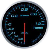 Zegar DEFI ADVANCE BF Turbo 1.2 - niebieskie podświetlenie