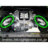 Orurowanie intercoolera i blow off HKS Nissan R35 13002-AN004