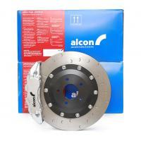 Zestaw hamulcowy przód 6 tłoczkowy 343 mm ALCON - SUBARU IMPREZA STI 2001+