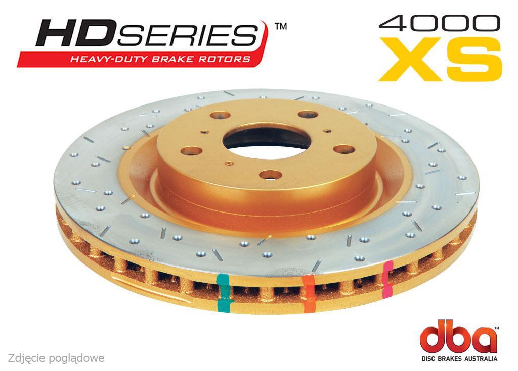 Tarcze hamulcowe DBA 4000 XS LEXUS IS F 5.0 (przód) DBA 42758XS