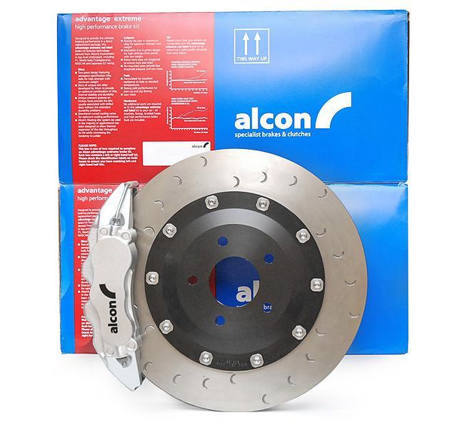 Zestaw hamulcowy przód 6 tłoczkowy 365 mm ALCON - AUDI A5 / S5 B8