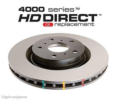Tarcze hamulcowe DBA 4000 RENAULT MEGANE RS275 TROPHY 2.0 (przód) DBA 42366