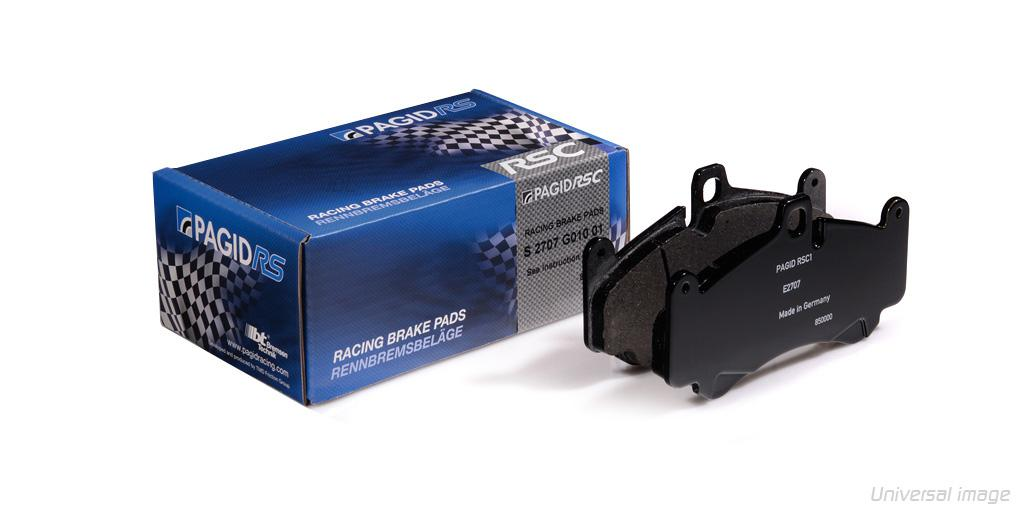 Klocki Hamulcowe Pagid RSC2 - Tył ( E4918 - S4918C02001 )
