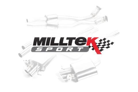 Milltek Mitsubishi Lancer Evolution 2008 - 2014 Element układu wydechowego Front Pipe o zwiększonej średnicy z dekatalizatorem (X 2.0 Turbo) SSXMI013