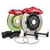 Zestaw hamulcowy Brembo GT / GT-R AUDI / SEAT / SKODA / VOLKSWAGEN przód 323x28mm 4-tłoczków 1A4.6007A